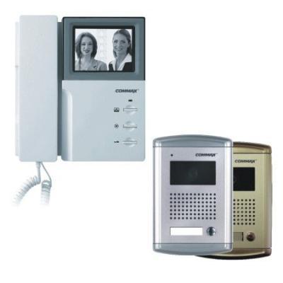 Zestaw wideodomofonowy Commax: DPV-4HP i DRC-4BAN
